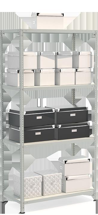 СТФЛ Стеллаж 1054-2,0 металлическая мебель