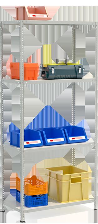 СТФЛ Стеллаж 1054-2.2 металлическая мебель